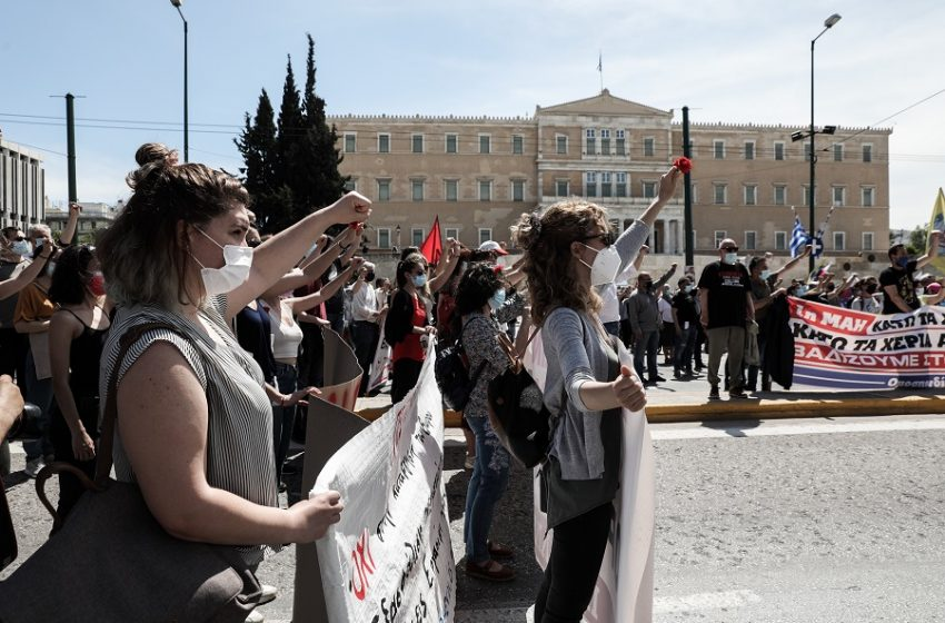 """Γενική απεργία 10ης Ιουνίου για το εργασιακό νομοσχέδιο: """"Νεκρώνει"""" δημόσιος και ιδιωτικός τομέας, ποιοι συμμετέχουν"""