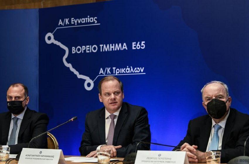 ΣΥΡΙΖΑ: Με καθυστέρηση δύο ετών και «καπέλο» 38 εκατ. ευρώ η υπογραφή για το βόρειο τμήμα του Ε65