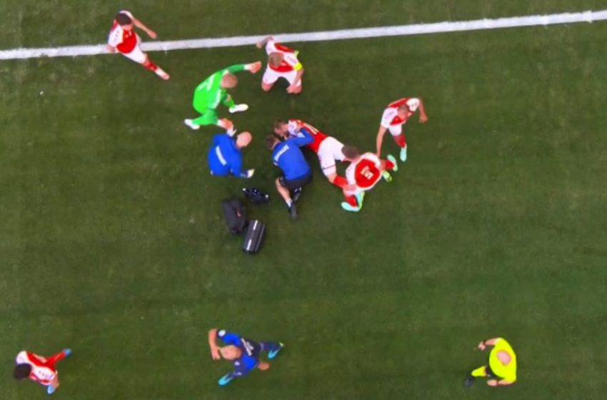 EURO 2021: Σοκ στον αγώνα Δανία – Φινλανδία – Κατέρρευσε ο Ερικσεν στον αγωνιστικό χώρο