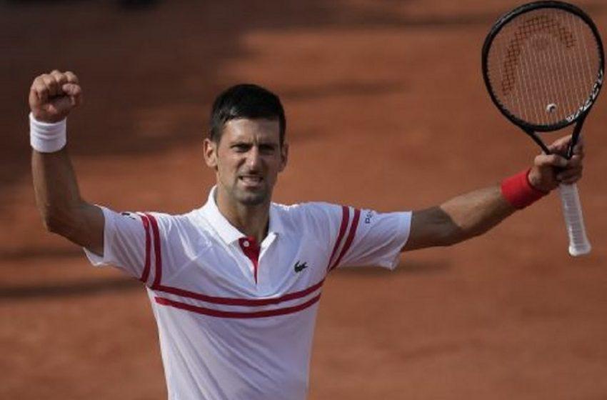 """Roland Garros: """"Περίπατος"""" για Τζόκοβιτς"""