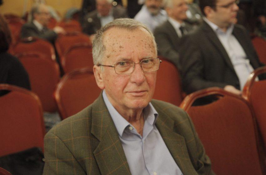 Απεβίωσε ο πρώην υπουργός του ΠΑΣΟΚ Γιώργος Δρυς.