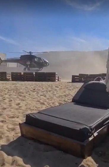 Μύκονος: Έρευνα της ΥΠΑ για την προσγείωση του ελικοπτέρου στην παραλία