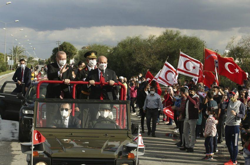 """""""Βόμβα"""" Ερντογάν στη μαύρη επέτειο της τουρκικής εισβολής στην Κύπρο: Πληροφορίες ότι θα ανακοινώσει κοιτάσματα αερίου"""