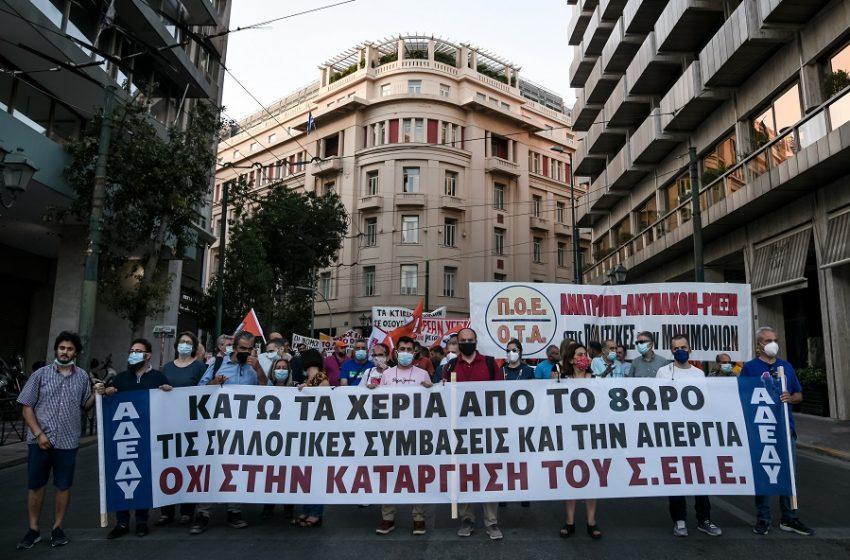 Στη Βουλή το εργασιακό νομοσχέδιο –  ΣΥΡΙΖΑ: Το τελειωτικό χτύπημα στον κόσμο της εργασίας