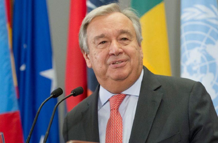 ΟΗΕ: Επανεξελέγη ο Γκουτέρες για δεύτερη θητεία