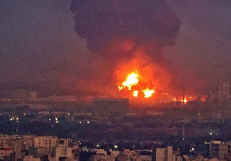 Τεχεράνη: Μεγάλη φωτιά σε διυλιστήριο