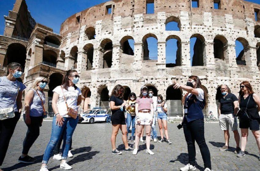Ιταλία: Καραντίνα 5 ημερών για τους τουρίστες από Βρετανία