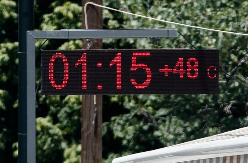 Καύσωνας και καταιγίδες – Ο καιρός της εβδομάδας