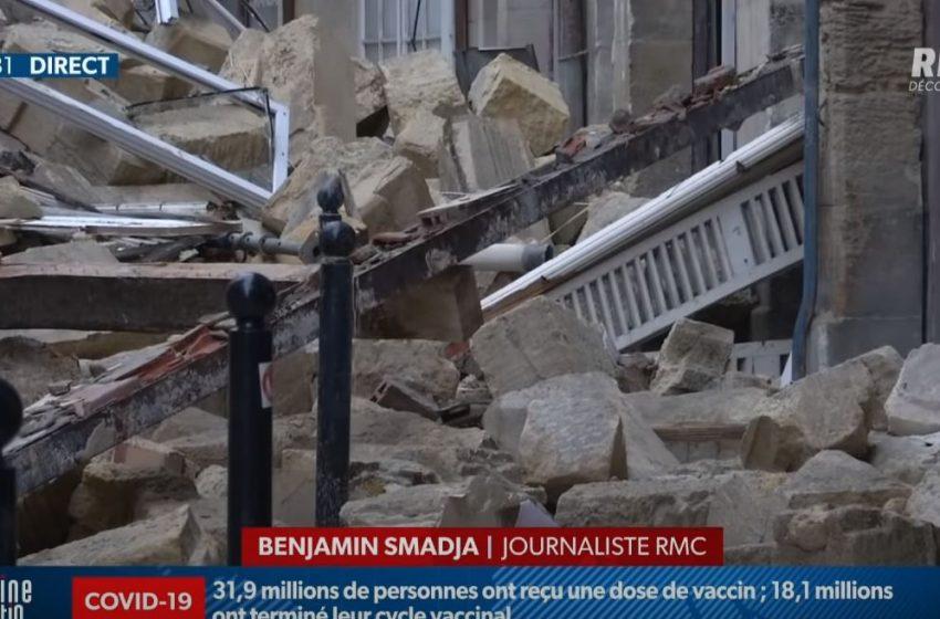 Κατέρρευσαν κτίρια στο κέντρο του Μπορντό (vid)