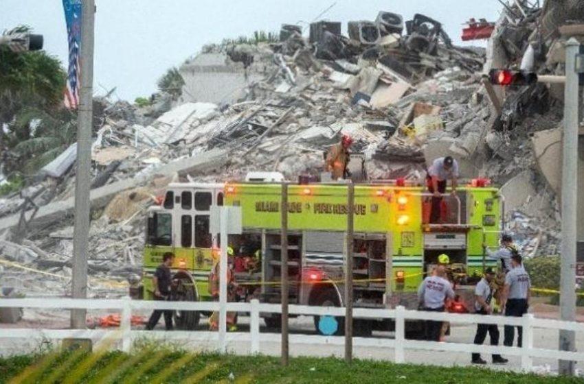 Στο Μαϊάμι ο Μπάϊντεν – Έφτασαν τους 12 οι νεκροί από την κατάρρευση του κτιρίου