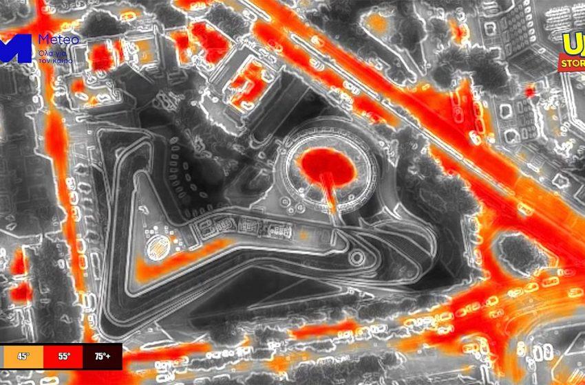 Η Αθήνα φλέγεται! Πτήση με θερμική κάμερα μέσα στον καύσωνα (vid)