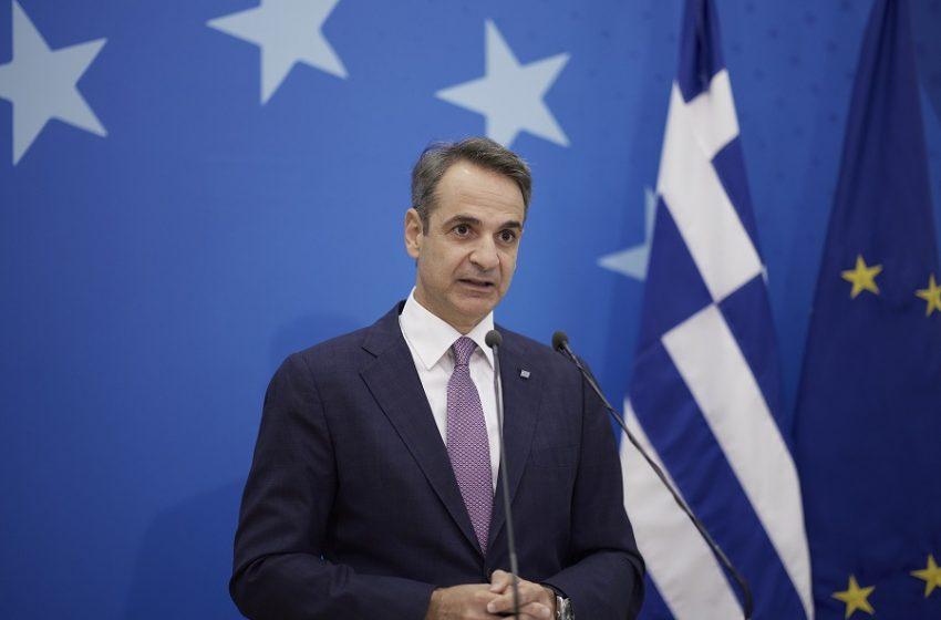 """Τηλεφωνική επικοινωνία Μητσοτάκη – Αναστασιάδη για την πυρκαγιά: """"Η Ελλάδα πάντα στο πλευρό της Κύπρου"""""""