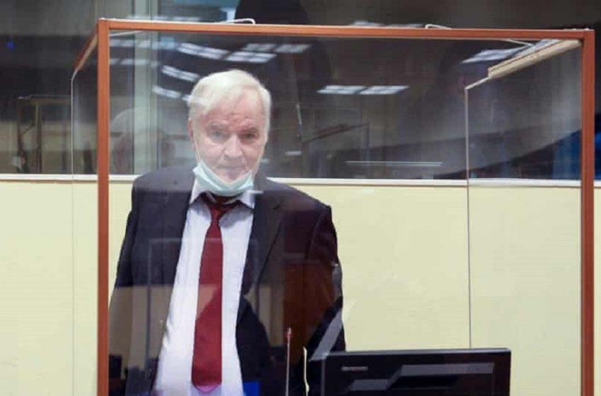 Οριστική καταδίκη Μλάντιτς για γενοκτονία στη Βοσνία