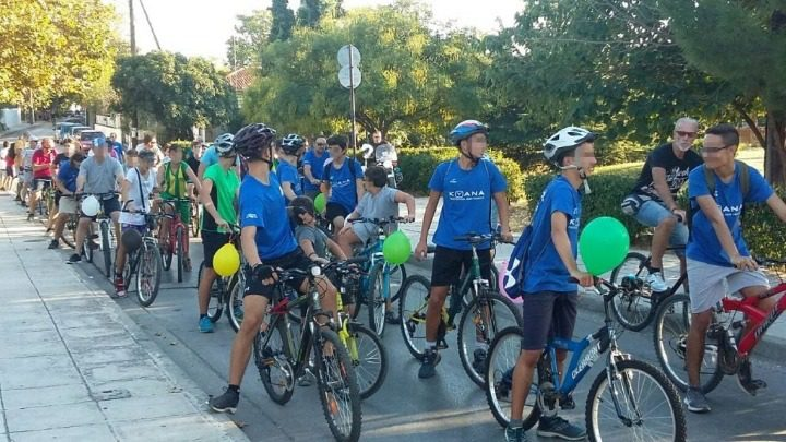 Ποδηλατάδα στη δυτική Θεσσαλονίκη για καλύτερο περιβάλλον
