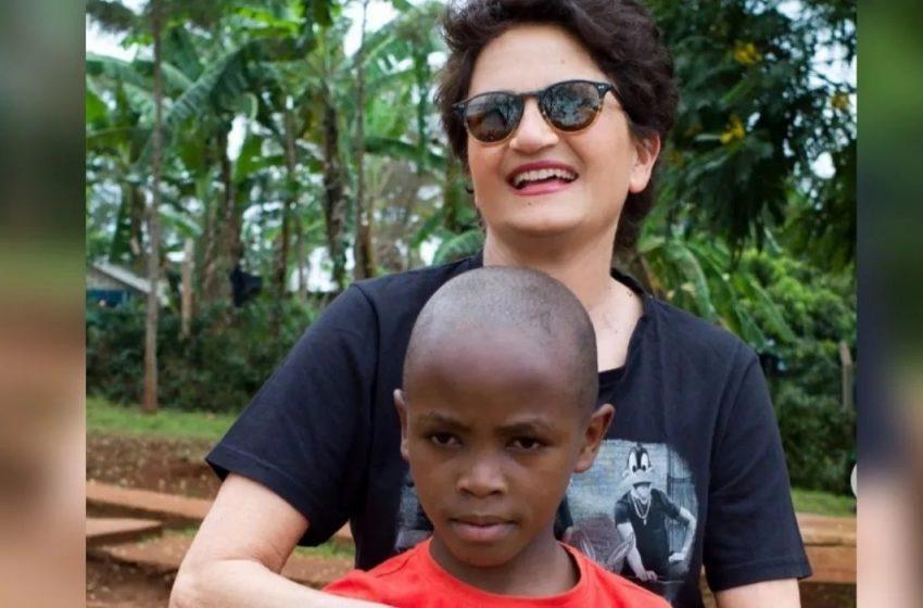 Άλκηστις Πρωτοψάλτη: Υιοθέτησε τον μικρό Clemens που μεγάλωνε σε φυλακές στην Κένυα
