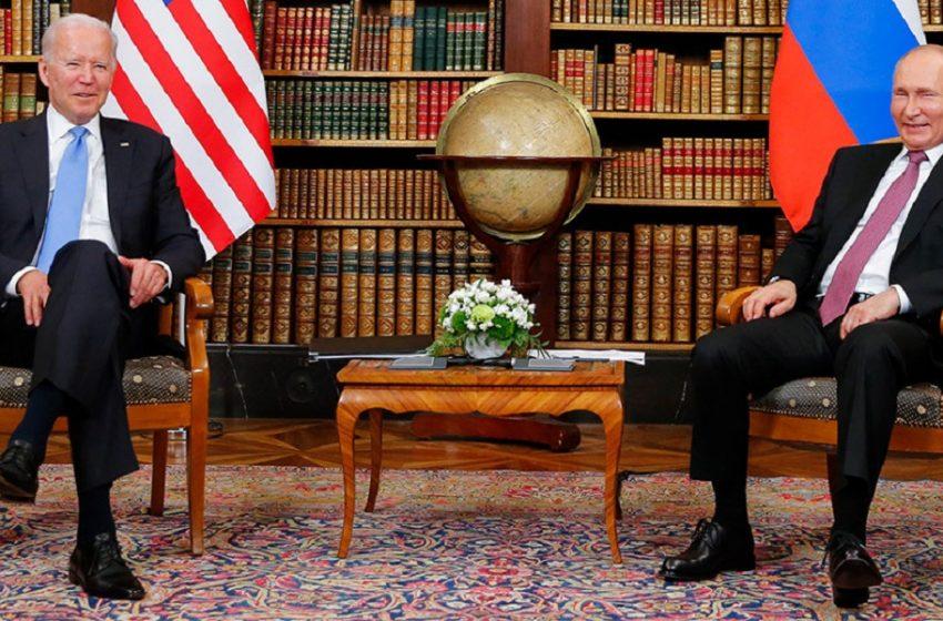 """Μπάιντεν για  συνάντηση με Πούτιν: """"Έκανα αυτό που ήρθα να κάνω – Πάντα στο τραπέζι τα ανθρώπινα δικαιώματα"""" (vid)"""