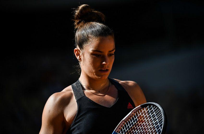 Roland Garros: Η Σάκκαρη αποκλείστηκε από τον τελικό