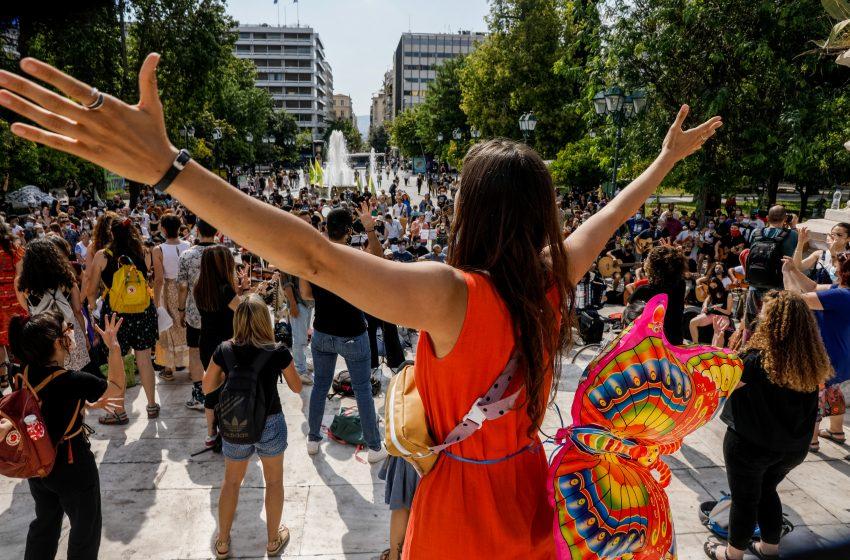 Πλημμύρισε με μουσικές η Αθήνα για την Παγκόσμια Ημέρα Περιβάλλοντος