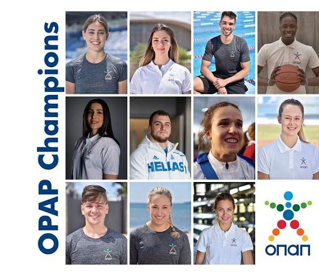 Έξι νέοι αθλητές στην οικογένεια των ΟΠΑΠ Champions