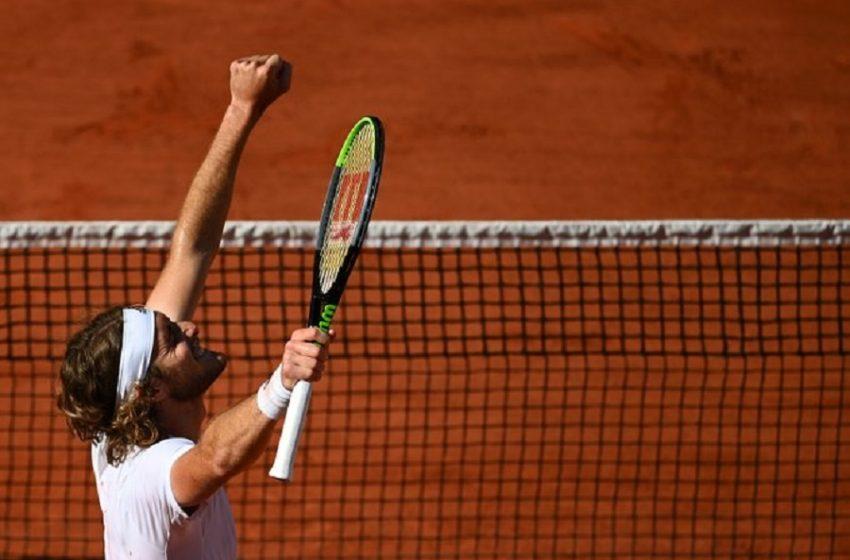 Τσιτσιπάς: Ενθουσιώδη σχόλια  για την πρόκριση στον τελικό του Roland Garros (με Τζόκοβιτς)