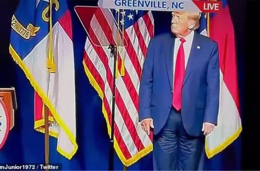 Σάλος με Τραμπ: Φορούσε ανάποδα το παντελόνι του; (vid)