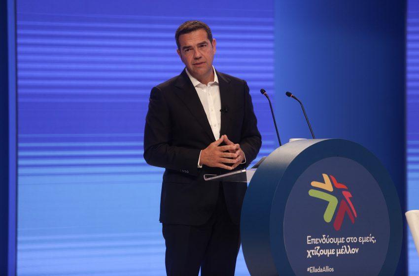 Τσίπρας στον ΣΕΒ: Χρειάζεται νέα οικονομική πολιτική για μείωση ανισοτήτων, περιβάλλον και δίκαιη ανάπτυξη