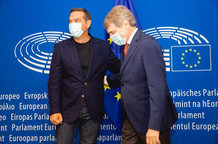 Τσίπρας σε ευρωσοσιαλιστές: Κλονίζεται η κυριαρχία  του νεοφιλελεύθερου μοντέλου