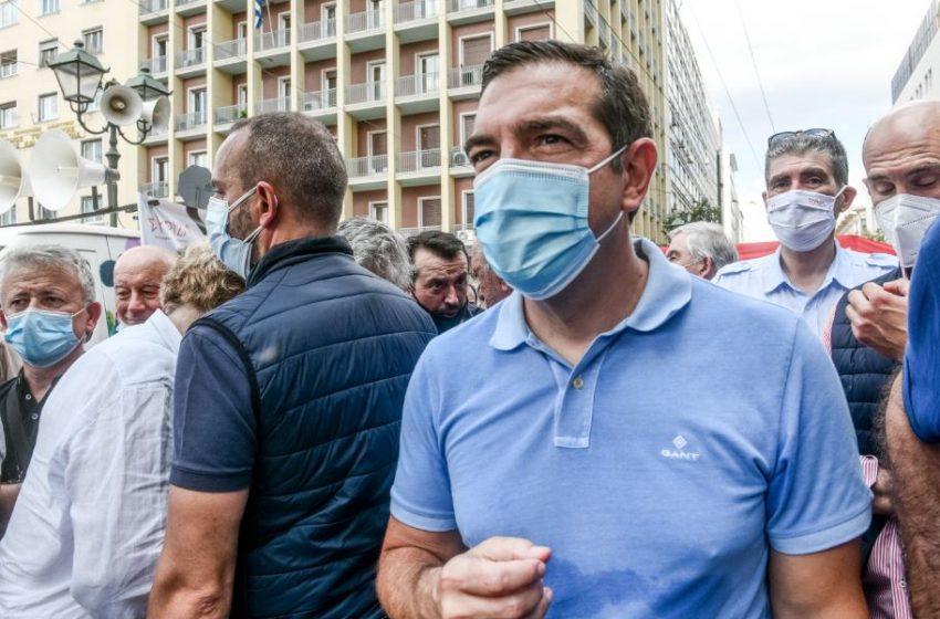 Τσίπρας: Ο κόσμος της εργασίας σύντομα θα δώσει ρεπό διαρκείας στον κ. Μητσοτάκη και τους υπουργούς του