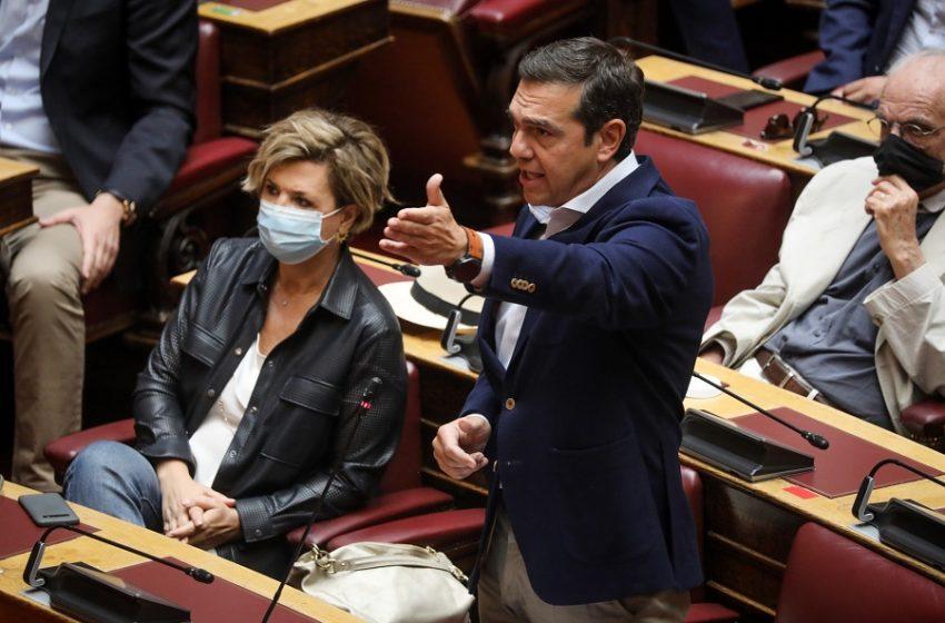 Αντεπίθεση ΣΥΡΙΖΑ μετά το επεισόδιο με Τασούλα – Κατατέθηκε η πρόταση νόμου για τα υπερχρεωμένα κόμματα που προανήγγειλε ο Τσίπρας