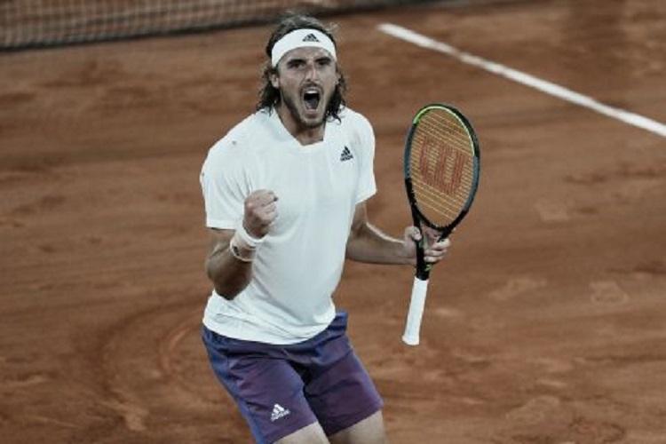 Μεγάλη νίκη: Ο Τσιτσιπάς κέρδισε 3-0 τον Μεντβέντεφ και πέρασε στους 4 του Roland Garros