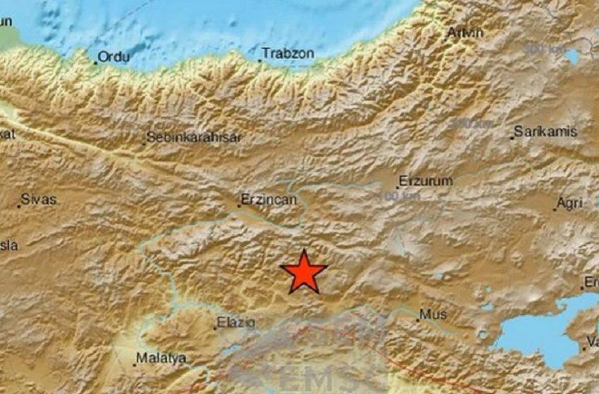 Τουρκία: Ισχυρός σεισμός 5,7 Ρίχτερ