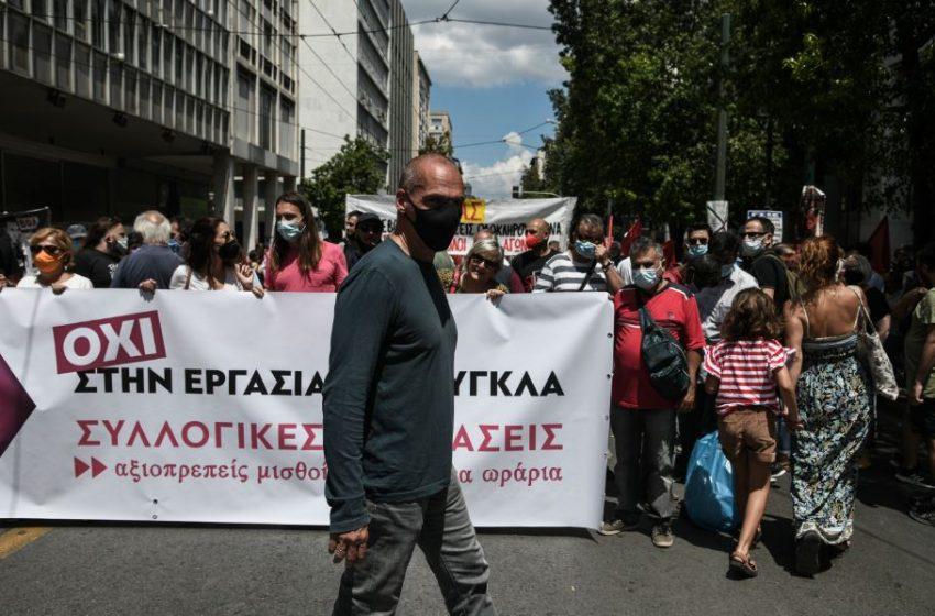 Βαρουφάκης: Στηρίζουμε τους εργαζόμενους ενάντια στο νομοσχέδιο – ζόμπι του κ. Χατζηδάκη