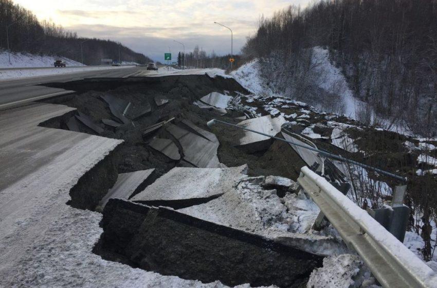 Iσχυρός σεισμός 8,2 Ρίχτερ στην Αλάσκα