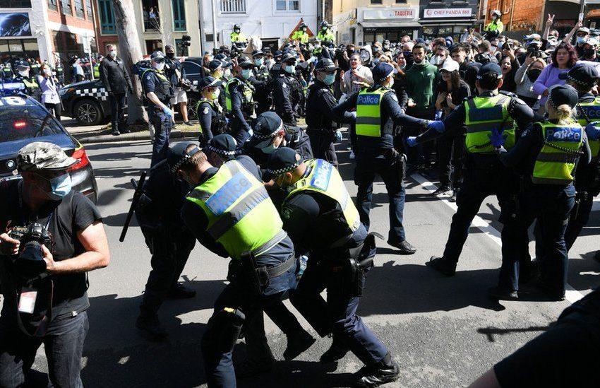 Αυστραλία: Διαδηλώσεις κατά του lockdown με βίαιες συγκρούσεις