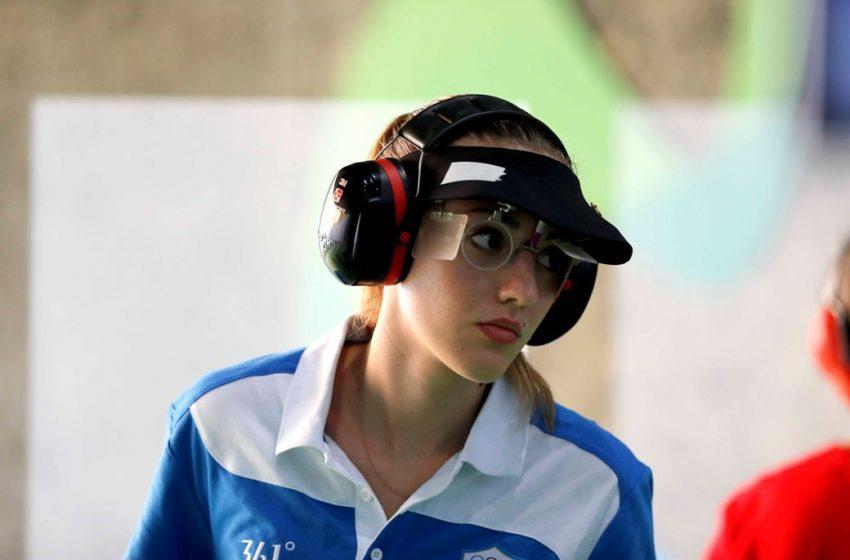 Κορακάκη: Στην 6η θέση στον τελικό των 25 μέτρων