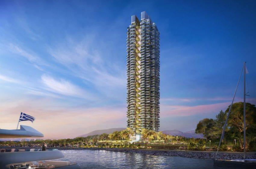 Marina Tower: Μεγάλη ζήτηση για τα διαμερίσματα του πράσινου ουρανοξύστη