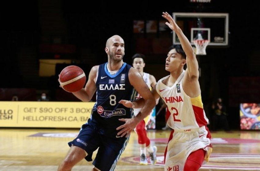Σάρωσε την Κίνα και περιμένει την Τουρκία η Εθνική μπάσκετ στο Προολυμπιακό