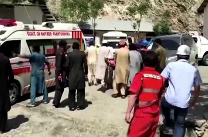 Πακιστάν: Έκρηξη σε λεωφορείο με 13 νεκρούς