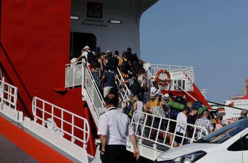 Λιμάνι του Πειραιά: Με rapid test και πιστοποιητικό εμβολιασμού
