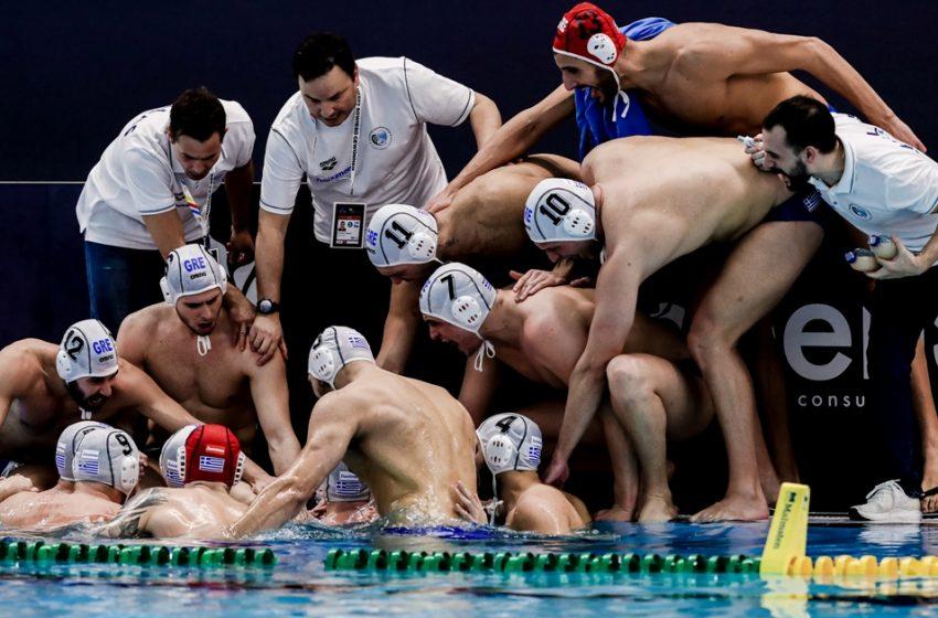 """""""Ασημένια"""" η Εθνική πόλο – """"Άγγιξε"""" το χρυσό με την Σερβία"""