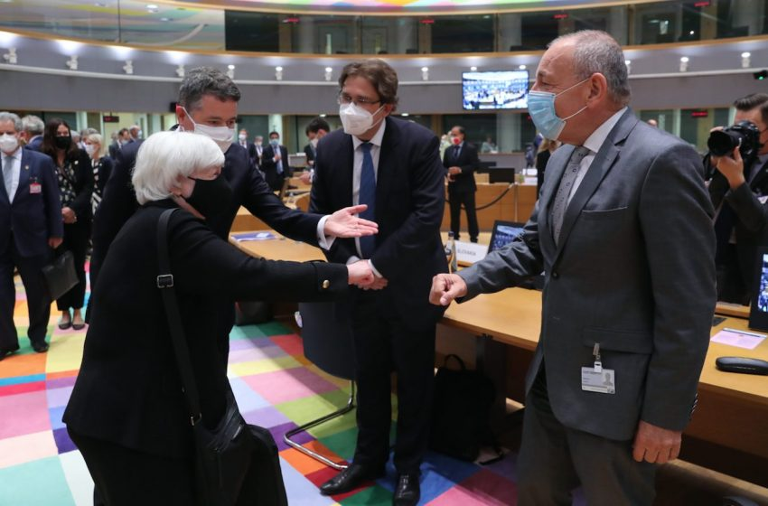 Σε εξέλιξη το Eurogroup: Οι ΥΠΟΙΚ της ευρωζώνης και της ΕΕ θα αποτιμήσουν τη μακροοικονομική κατάσταση
