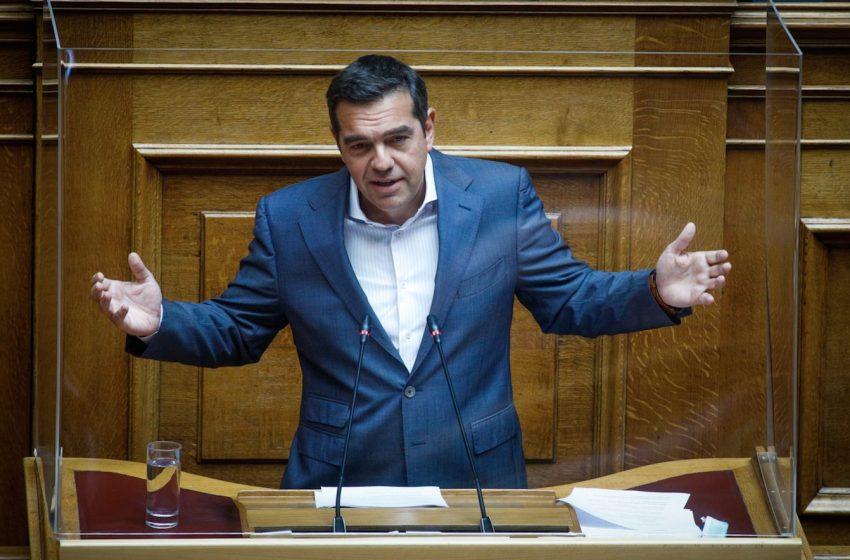 Τσίπρας: Δεν θα ακολουθήσω τον ολισθηρό δρόμο του κ. Μητσοτάκη