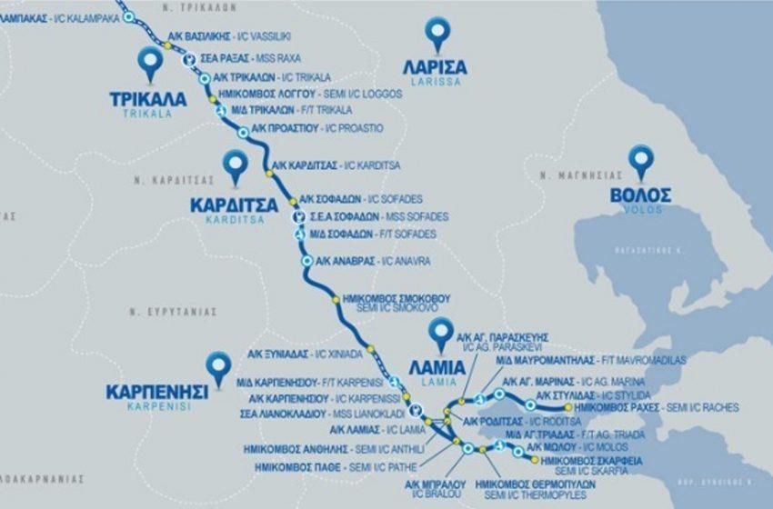 Στην κυκλοφορία τα πρώτα 14 χιλιόμετρα του Νότιου τμήματος του Ε65