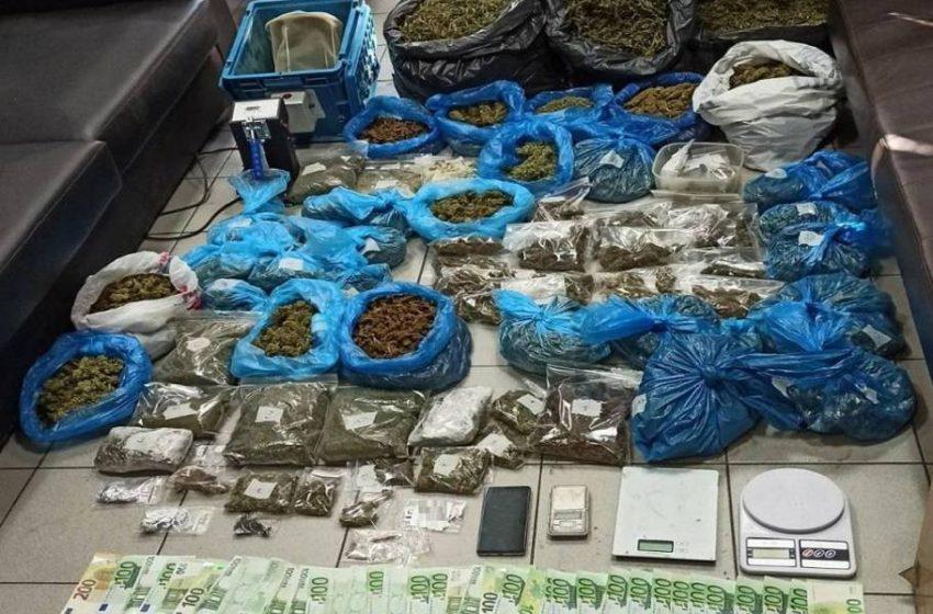 Καλαμαριά: Καλλιεργούσε κάνναβη σε διαμέρισμα κλέβοντας ρεύμα