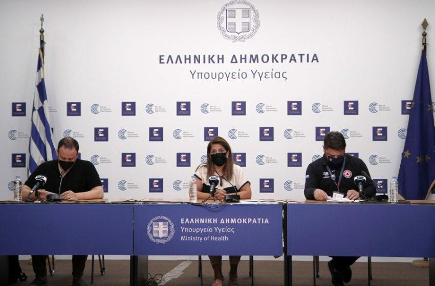 LIVE H ενημέρωση του Υπουργείου Υγείας για τη μετάλλαξη Δέλτα και τα νέα μέτρα