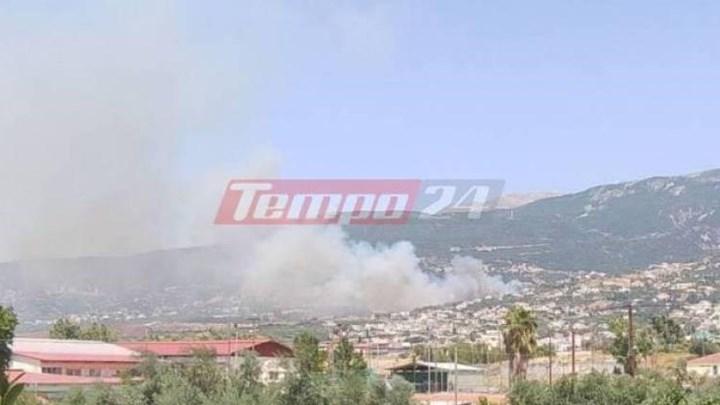 Μεγάλη φωτιά στην Αχαΐα: Καίγονται σπίτια, εκκενώνεται ο οικισμός Σούλι (vid-εικόνες)