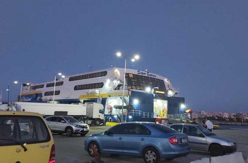 Μπουρνούς: Τουλάχιστον 30 τα κρούσματα στο πλοίο από την Ίο