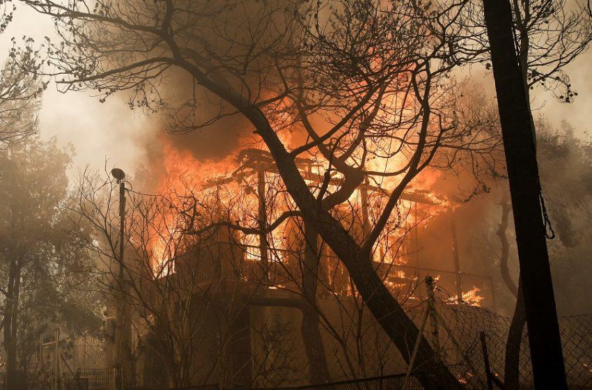 Πολύ υψηλός κίνδυνος πυρκαγιάς την Πέμπτη -Η λίστα με τις περιοχές