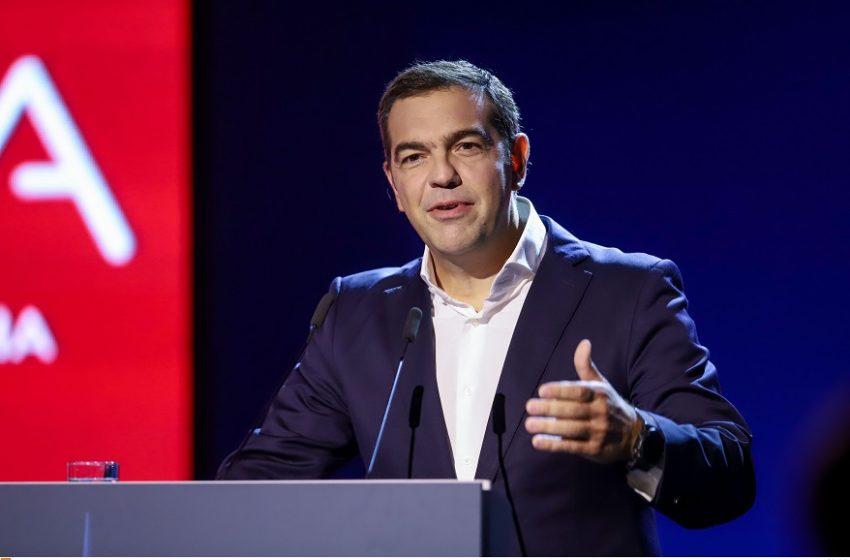 LIVE Oμιλία Τσίπρα στη Θεσσαλονίκη