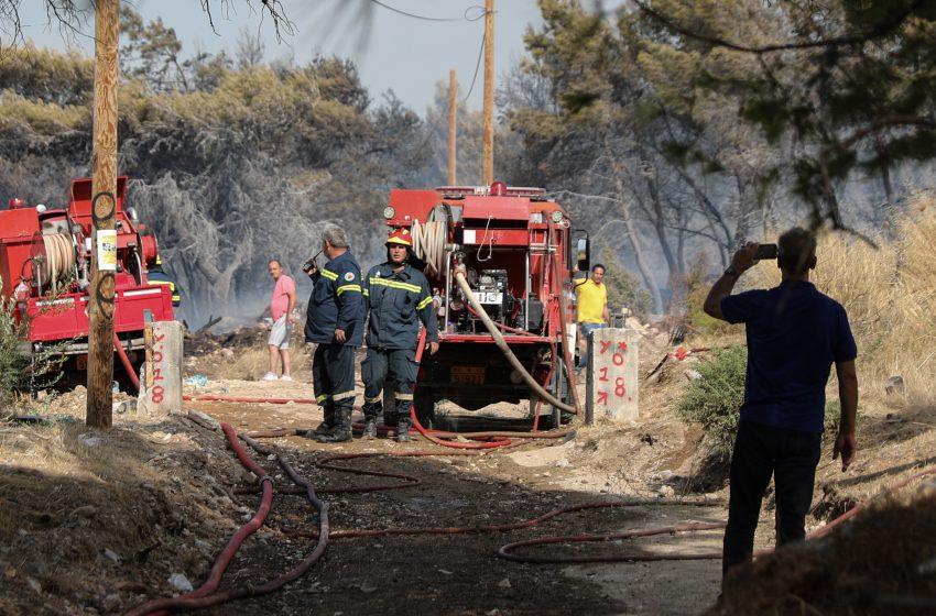 Φωτιά στη Βρύναινα Μαγνησίας -Συναγερμός στην Πυροσβεστική